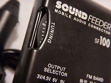 Sound Feeder -SoundFeeder Mobile Audio Connector SF100 Lighter Plug-In w/ Tuning