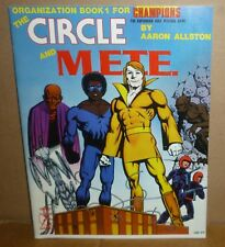 CIRCLE & M.E.T.E. Organization Book #1 for Champions