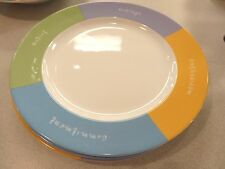 """Mary Kay Dinnerware Inspirational Words To Live By 10 3/4"""" DINNER PLATE EXC"""