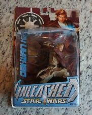 "Obi-Wan Kenobi 2004 STAR WARS Unleashed 7"" Figure MOC"