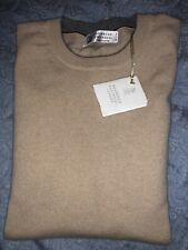 Brunello Cucinelli Mens 100% Cashmere Sweaters Size 52/L NWT $1450