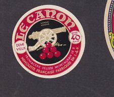 Ancienne  petite étiquette  fromage  Hollande  BN19677 Le Canon