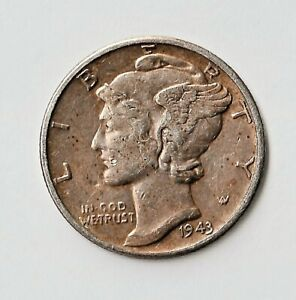 1943 Mercury Dime / Lincoln Cent Fabricated Double-Denomination. Expertly Done!