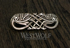 Knotted Birds Brooch/Pin/Pendant -- Norse/Viking/Celtic/Medieval/Skyrim/Jewelry