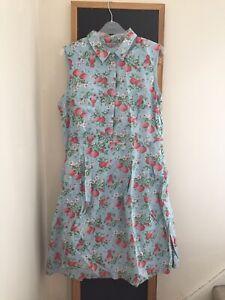 Cath Kidston Strawberry Shirt Dress 12