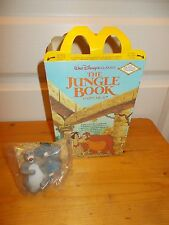 Disney's THE JUNGLE BOOK McDonald's Happy Meal Box + BALOO Toy from 1989