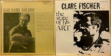 JAZZ 2 LP LOT: CLARE FISCHER - THE STATE OF THE ART, EASY LIVIN' Revelation