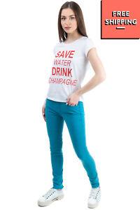 TRUSSARDI JEANS Skinny Jeans Size 26 Stretch Garment Dye Zip Fly