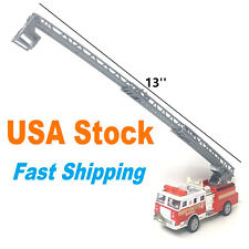 Fire Truck, Diecast Model Toy Car 5 inches, with Extending Ladder