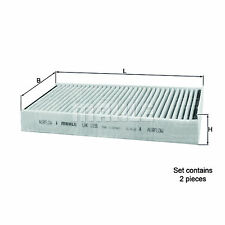 Mahle Car Cabin Filter - LAK1156/S - Twin Pack