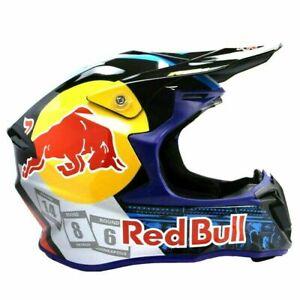 Red Bull Motocross Helmet Motorcross ATV MX BMX Dirt Bike Racing Helmet SALE!!