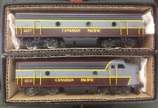 CANADIAN PACIFIC - EMD F9  A&B Set by Tenshodo Brass  Ho Scale