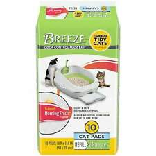 (2 Pack) Tidy Cats Breeze Morning Fresh Scented Cat Pads, 10 count