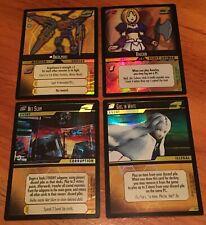 Dot Hack .Hack Enemy TCG Lot of 4 Promo FOIL Cards (2P1 2P2 2P4 2P5) - M/NM
