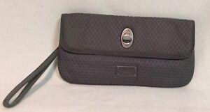 Baggallini Gray Nylon Wallet  Wristlet Clutch