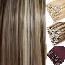 Big Sale Full Head Clip in  feels as good as Human Hair Extensions 15 18 22 inch