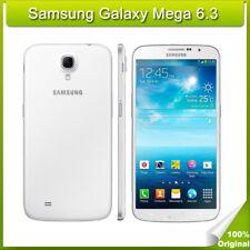 """Blanco Samsung Galaxy Mega 6.3 I9200 6.3"""" Móviles libres 8GB Android Smartphone"""