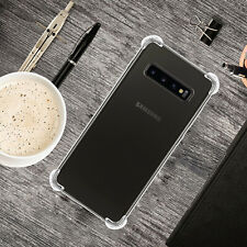Ultra Soft Rubber Protective Clear Gel Case Cover for Samsung Galaxy S10 Plus