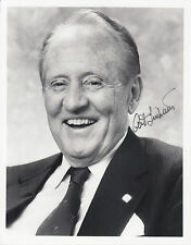 Art Linkletter, Canadian-American TV and Radio Host, signed 8x10 B&W photo