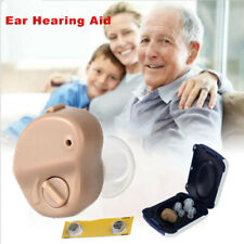 1 Set Portable Invisible Hearing Aid Enhancer Mini In-Ear Sound Voice Amplifier