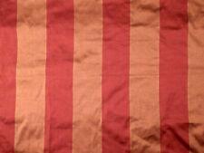 PIERRE FREY Large Vertical Stripe copper burnt orange cotton 2+ yards new