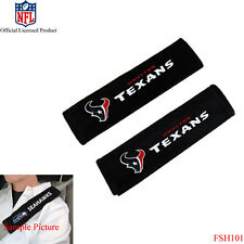New NFL Houston Texans Car Truck Suv Van Seat Belt Shoulder Pads Covers