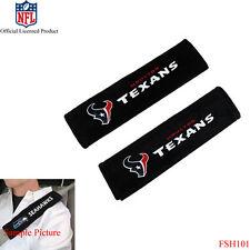 New NFL Houston Texans Car Truck Suv Van Seat Belt Shoulder Pads Covers