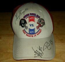2008 Super Bowl 42 XLll Hat Cap NE Patriots -v- NY Giants