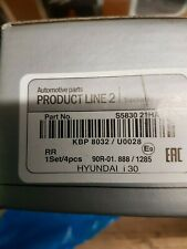 Juego de pastillas de freno se ajusta Hyundai i30 FD Trasero 2.0 2.0D 07 a 12 Bosch 583021GA00 Nuevo