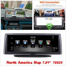 "7.84""FHD 1080P Car DVR Vehicle Dashboard Recorder BT WIFI FM Transmitter 4G ADAS"