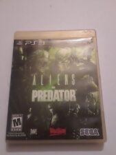Alien vs. Predator Sony PlayStation 3 PS3 Game