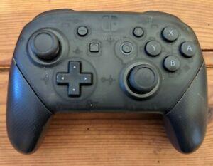 Manette Nintendo Switch Pro Noire Officielle - Sans câble USB-C - Très bon état