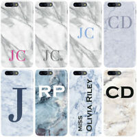 DYEFOR MARBLE INITIALS PERSONALISED V2 PHONE CASE COVER FOR ONEPLUS