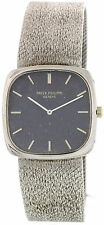 Men's Patek Philippe Ellipse 18K White Gold Watch