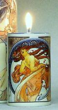 "Candle holder ""Alphonse Mucha"""