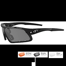 ab5b609a409 Tifosi Optics Davos Matte Black Interchangeable 1460100101