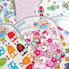Cotton Baby Bibs & Burp Cloths
