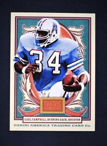 2013 Panini Golden Age #115A Earl Campbell - NM-MT