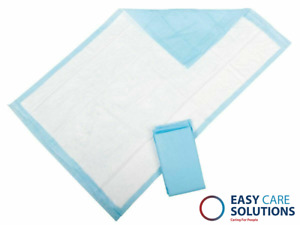 Large Disposable Incontinence Bed Pads Protection Sheets - 60 x 90 cm