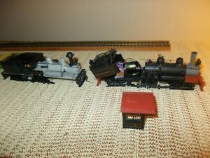 SET OF 2: MDC ROUNDHOUSE 2 TRUCK SHAY LOCOMOTIVE KITS, PARTIALLY BUILT, DCC?
