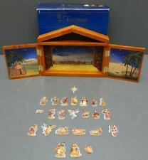 Fontanini Christmas Nativity Advent Calendar Set #65400 Wood 2007 Roman, Inc.