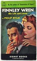 Finnley Wren by Philip Wylie 1949 Signet Paperback 701