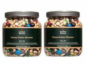 Archer Farms Peanut Butter Monster Trail Mix, 34 OZ 2 Pack