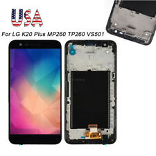 For LG K20 Plus TP260 MP260 M255 M257 LCD Display Touch Screen Digitizer Frame