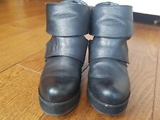 Shellys London leather ankle boots size 4.5 UK