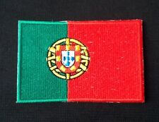 PORTUGAL PORTUGESE COUNTRY FLAG NATIONAL BADGE IRON SEW ON PATCH EURO CHAMPIONS