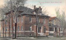 South Bend IN Handcolored Epworth Hospital~Big Dormer~House Next Door '07 Cancel