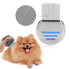 Dog Hair Comb Nit Free Spiral Terminator Stainless Steel Lice Eggs Dust Removal