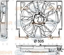 HELLA 8EW 351 040-421 FAN RADIATOR FITS BMW 5 (E60) DIESEL 60 WHOLESALE PRICE