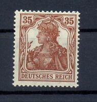 DR 103 b Germania 35 Pfg. rötlichbraun postfrisch tiefst geprüft (lr108)